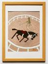 馬術の舞台/新馬の調馬索